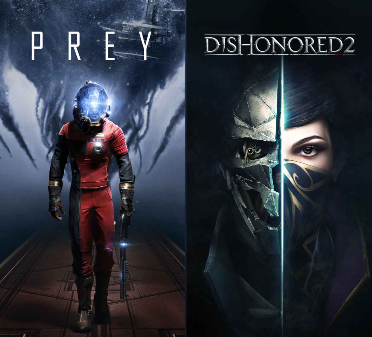 Prey & Dishonored games