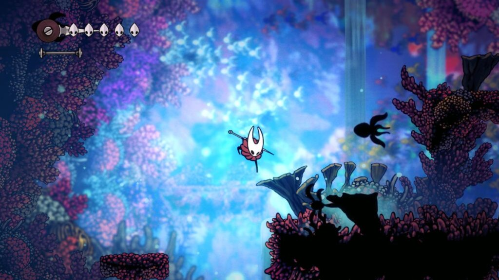 Hollow Knight Sliksong jumping