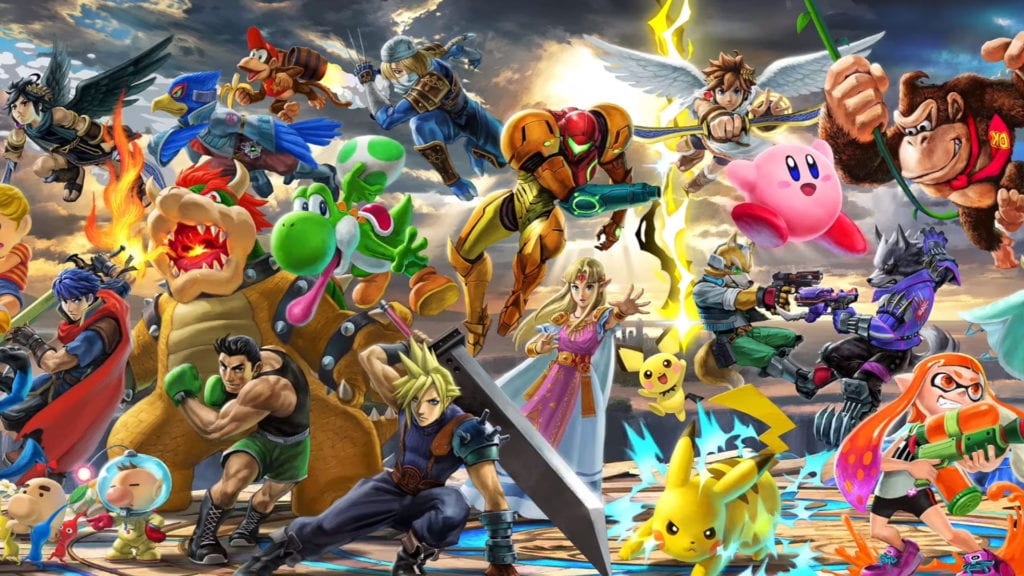 DLC Smash Bros