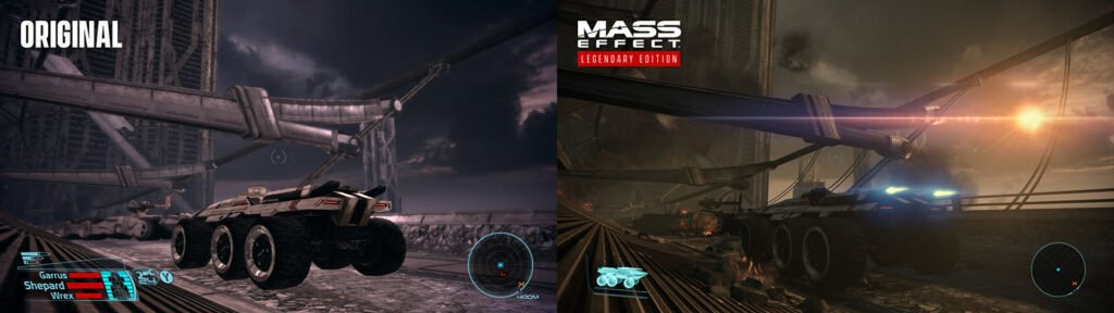 Mass Effect Legendary Comparison
