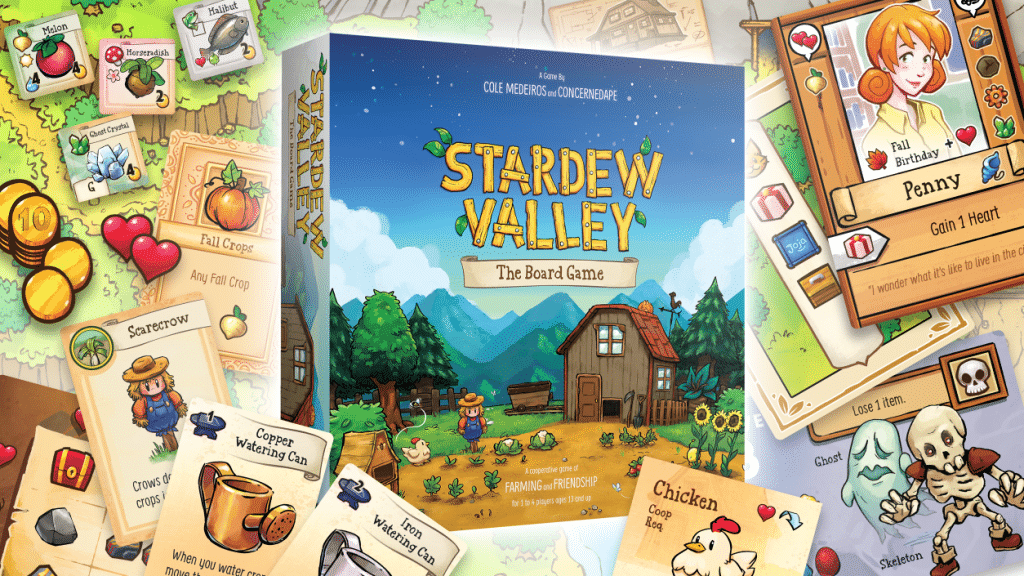 Stardew Valley - The board game looks cute!