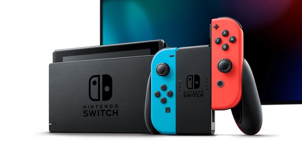 Nintendo Switch dock and console