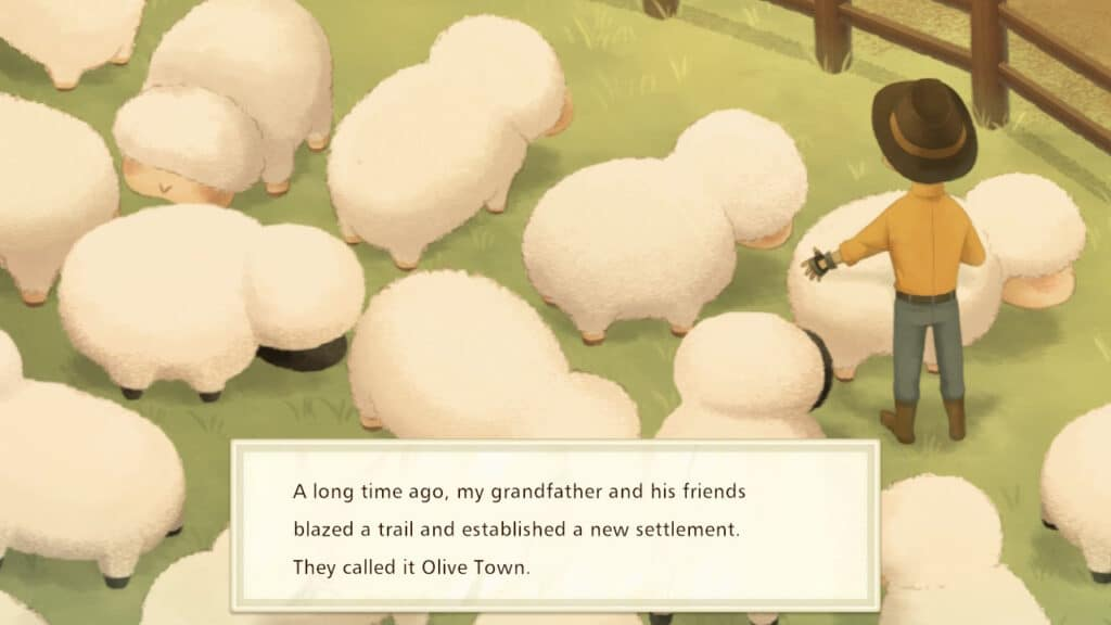 Story of Seasons Preview Opening