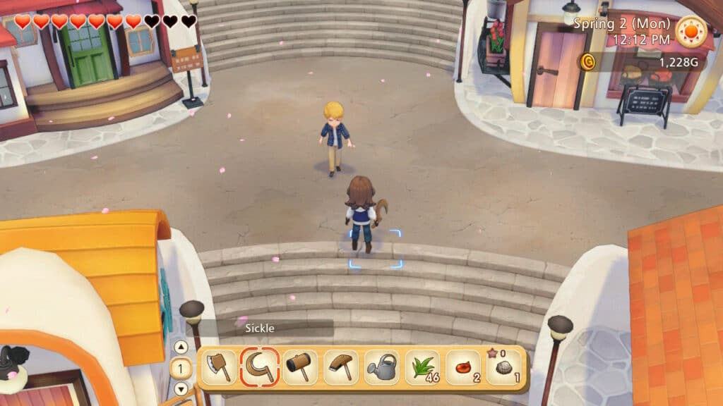 Story of Seasons Preview Town
